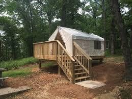 Building A Tent Platform Platform Tent Campsites Missouri State Parks