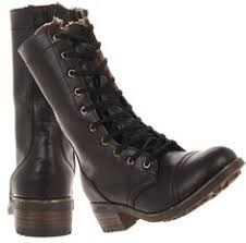 womens black combat boots size 9 vintage womens black leather justin lacer packer combat