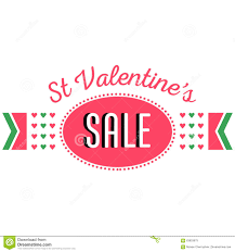 valentines sale s day sale discount banner announcement stock