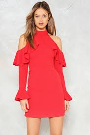 safety cold shoulder dress shop clothes at gal