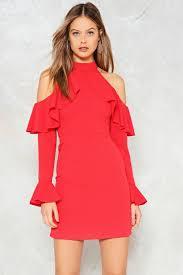 safety cold shoulder dress shop clothes at gal