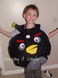 Angry Birds Halloween Costume Keeping Simple Angry Birds Costumes