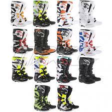alpinestars tech 7 motocross boots motocross stiefel bekleidung von alpinestars fox sidi im