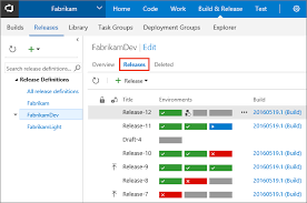 view and manage releases with release management microsoft docs