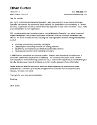 example of great cover letter leading professional online marketer and social media cover letter