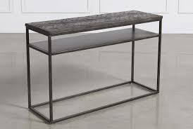 Iron Sofa Table by Cinna Sofa Table Living Spaces