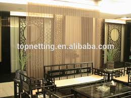 Metal Room Divider Restaurant Hanging Curtain Room Divider Decorative Metal Room