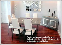 Contemporary Dining Room Chair by Custom Contemporary And Modern Dining Rooms Including Chairs