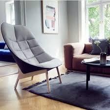 Living Room Lounge Chair Leisure Style Uchiwa Fiberglass Lounge Chair For Living Room With