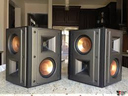 home theater surround speakers klipsch rs 42 surround speakers photo 592433 canuck audio mart