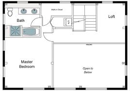 Second Floor Plans The Millbrook Barn Home Floor Plan Timberpeg Timber Frame Post