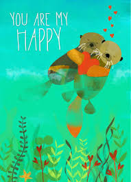 happy otter s day card cardstore