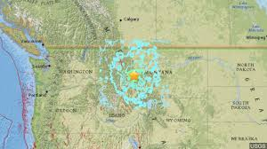 Earthquake Map Oregon by The Latest Usgs Says Tremors Followed Montana Earthquake