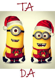 download free minions xmas wallpaper cute mobile wallpaper