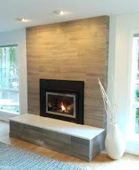 painted brick fireplace surround ideas modern porcelain tile clad