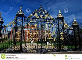 kensington palace gate london england stock photo image 46540202