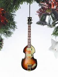 broadway gifts co obg12pm bass guitar hanging ornament