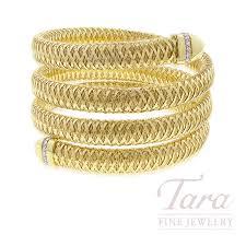 bracelet fine images Roberto coin 18k yellow gold primavera flex bangle bracelet jpg