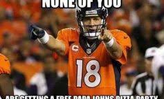 nfl super bowl xlviii meme battle manning vs beastmode fan vote