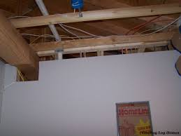 Interior Log Home Pictures Sheetrock Of Interior Walls Cowboy Log Homes