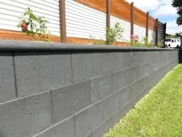 cinder block wall ideas concrete retaining wall ideas retaining
