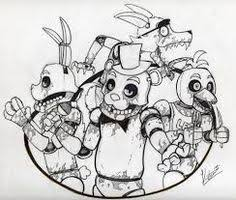 print freddy nights freddys fnaf coloring pages coloring