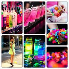 neon party ideas my neon party theme board https djs durban lumo