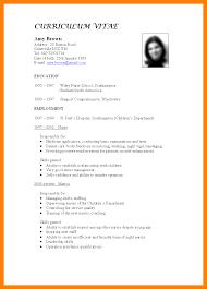Emt Resumes 7 How To Write Cv For Teaching Job Emt Resume