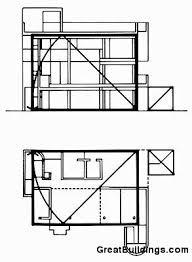 smith house richard meier floor plan house plan