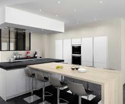 modele cuisine avec ilot central table cuisine avec ilot table quelle table pour une cuisine avec ilot
