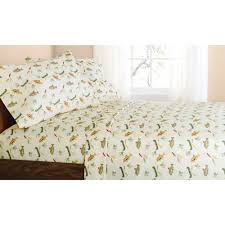 mainstays gone fishing bed in a bag coordinated bedding set