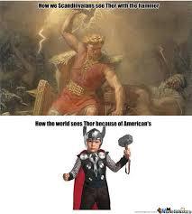 Viking Meme - viking thor vs thor the wimp by lordmiffy meme center