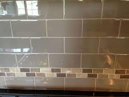 tile backsplashes for kitchens ideas 14 best simple backsplash with accent strips images on pinterest