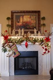decoration fireplace christmas decoration decorations graceful