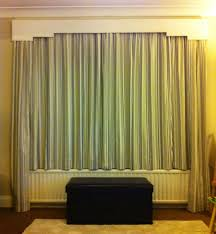 How To Hang Bay Window Curtains How To Hang Curtains Over A Radiator Radiators Hang Curtains