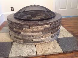 Firepit Bowl by Fire Pits Recycled Granite Blue Ridge