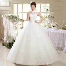 2016 sparkly high neck ball gown wedding dresses princess sheer