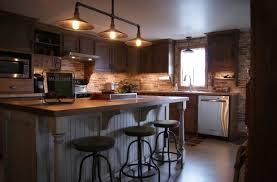 cuisine merisier armoire de cuisine en merisier teint et verni ilot laqué et glazé