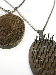 hair necklace 393 best hair jewelry images on contemporary jewellery