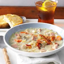 slow cooked sauerkraut soup recipe taste of home
