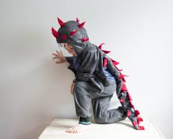 dragon costume black and red children costume party costume