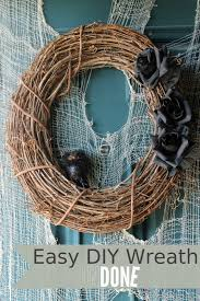 Halloween Door Wreath by Undone Halloween Door Wreath Daily Diaries