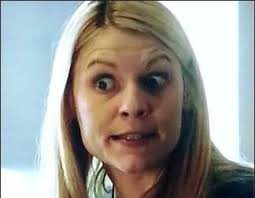 Claire Danes Cry Face Meme - 50 shades of homeland cray carrie s best worst most insane crying