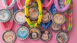 jewelry party favors tsum tsum birthday party favors party pack of colored bracelets