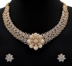 diamond necklace earring set images Diamond jewellery arts jpg