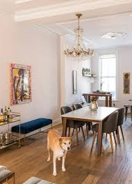 dining room brooklyn west elm brooklyn brownstone home tour 35 art centric