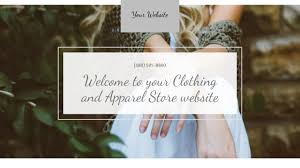 Online Clothing Store Website Builder Website Templates Godaddy