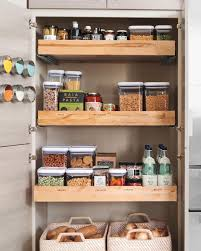 kitchen pantry storage cabinet ideas storage organization martha stewart