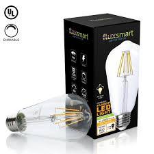 dimmable edison style vintage led filament light bulb 8 watt