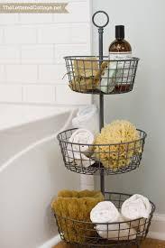 Bathroom Basket Storage Under Cabinet Storage Racks With Basket Bathroom Kitchen Bathroom